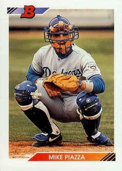 1992 Bowman Baseball Cards Checklist