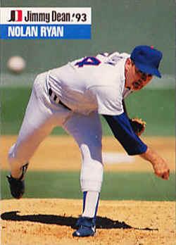 1993 Jimmy Dean Rookies Baseball Card Checklist