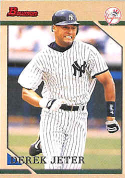 1996 Bowman Baseball Cards Checklist