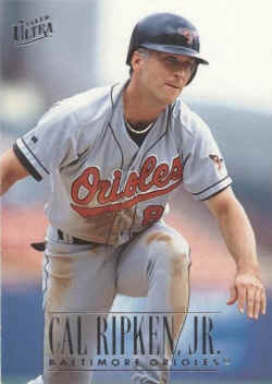Ultra Baseball Card Checklist 1991 1999