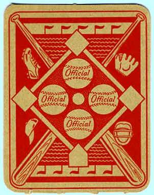 1951 Topps Red Back Baseball Cards