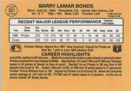 1987 Donruss Baseball Cards