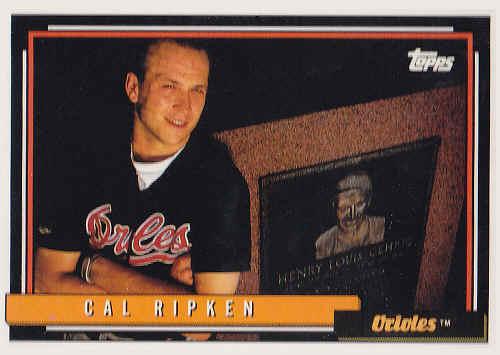 1992 Topps Baseball Cards
