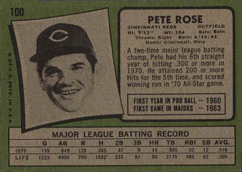 1971 Topps Baseball Cards