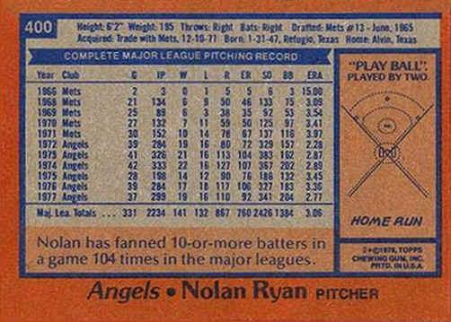 1978 Topps Baseball Cards