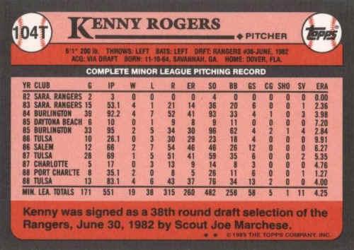 1989 Topps Traded Baseball Cards