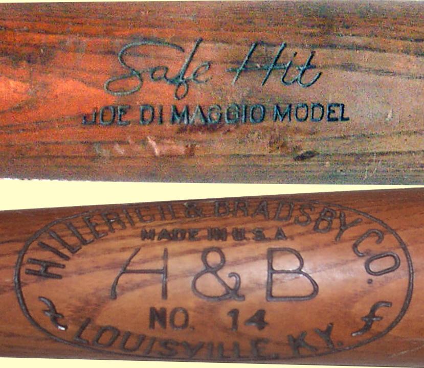 Hillerich Bradsby Safe Hit Bat