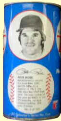 1977 RC Cola Baseball PETE ROSE Royal Crown Soda Can Opened at Top