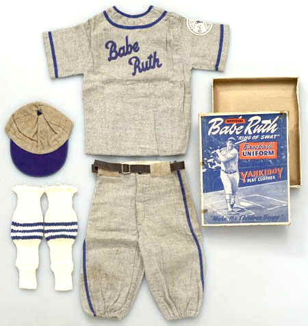 the latest fdc84 e104a YankiBoy Official Babe Ruth King of Swat Baseball Uniform